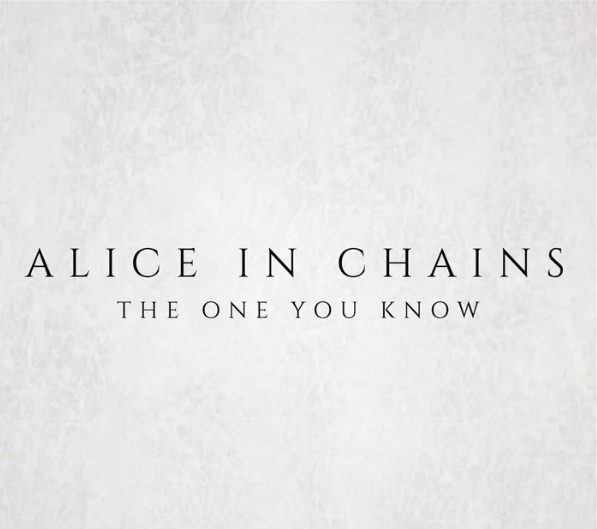alice in chains one you know